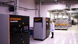 Renishaw RenAM 500Q installation at Sweden