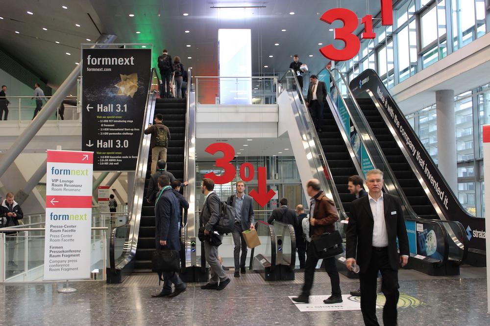 Entrance of Formnext 2018