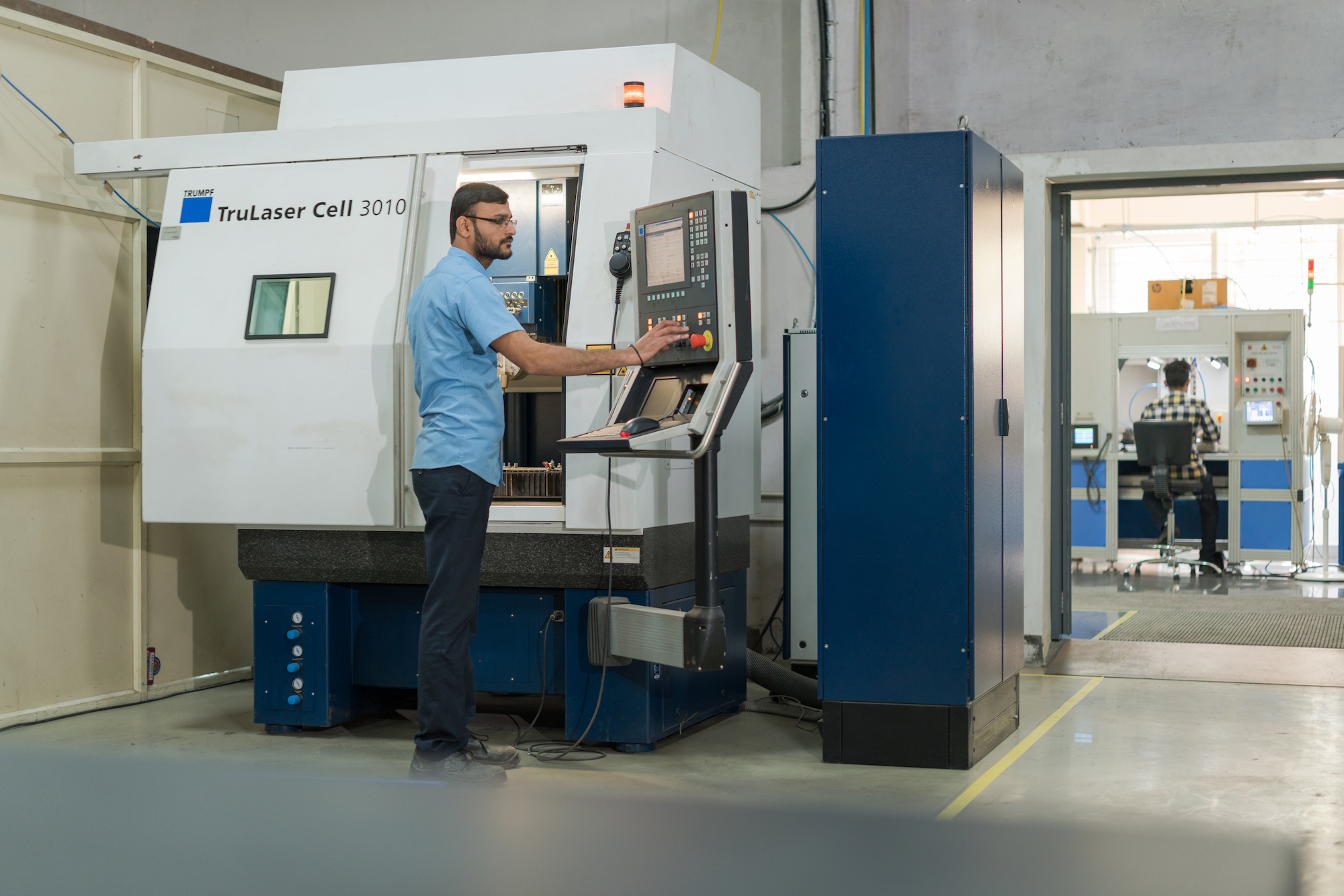 At Magod Laser, 25 TRUMPF machines are in use.
