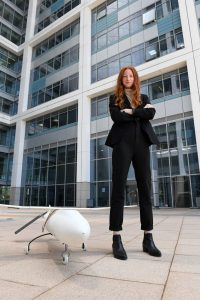 Neta Blum, head of the Flight Technologies Department at the Israeli Defense Ministry. Credit: Israeli Defense Ministry.