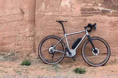 3D printed motor nodes in titanium, making e-bikes more energy efficient and durable, with increased performance and longer life-time.