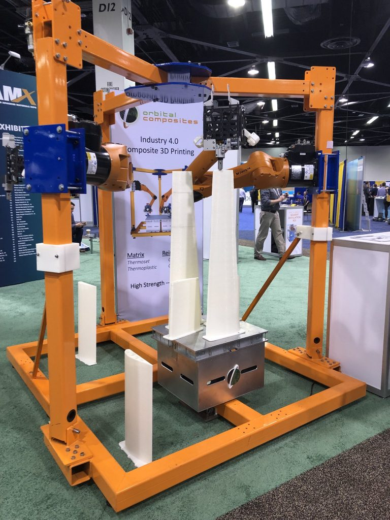 Orbital's ORB robotic 3D printing platform is being installed at Department of Energy's Manufacturing Demonstration Facility at ORNL.