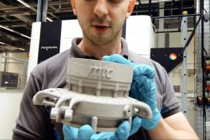 Innovative electric race car part shows potential for EBM in automotive