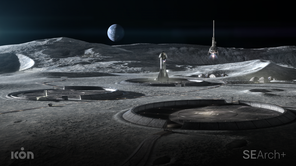 Project Olympus aims to explore building on the moon