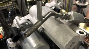 Eaton's Vehicle Group reduced cost and development time using its 3D metal printing capabilities to produce this oil fill nozzle.