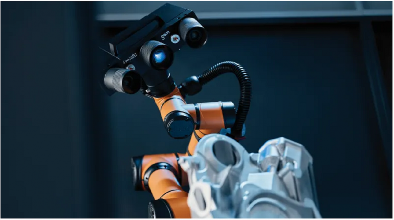 Collaborative Robot with Powerful 3D Scanner